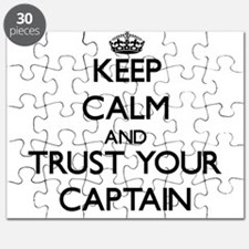 Keep Calm and Trust Your Captain Puzzle