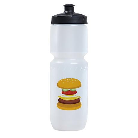 Cheeseburger Hamburger Sports Bottle