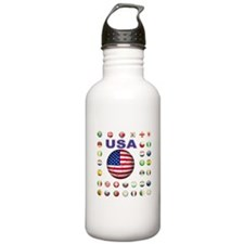 USA soccer Water Bottle