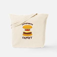 CHEESEBURGER EXPERT Tote Bag