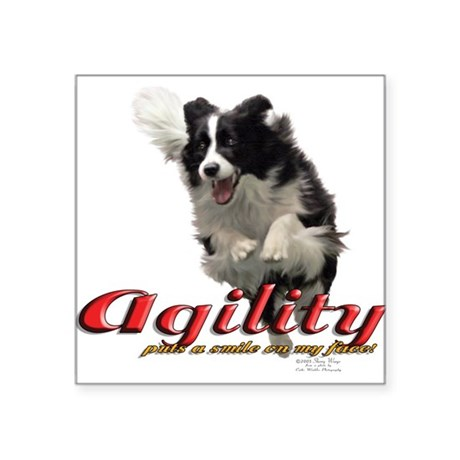 BCAgilitySmile Sticker