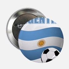 """Argentina soccer 2.25"""" Button (10 pack)"""