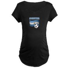 Argentina soccer Maternity T-Shirt
