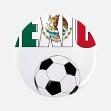 """Mexico soccer 3.5"""" Button (100 pack)"""