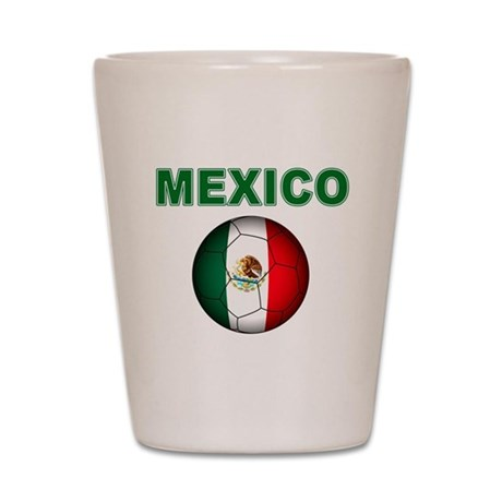 Mexico soccer Shot Glass