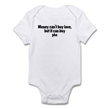 pho (money) Infant Bodysuit
