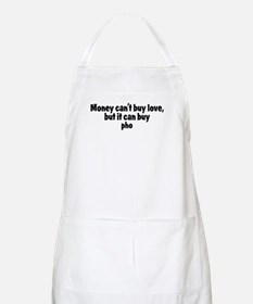 pho (money) BBQ Apron