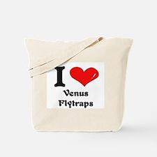 I love venus flytraps Tote Bag