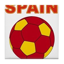 Spain soccer Tile Coaster