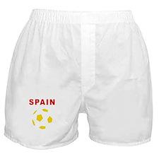 Spain soccer Boxer Shorts