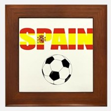 Spain soccer Framed Tile
