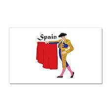 Spain Car Magnet 20 x 12