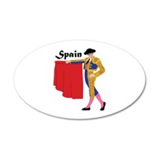 Spain Wall Decal