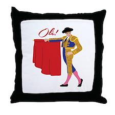 Oli! Throw Pillow