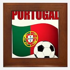 Portugal futebol soccer Framed Tile