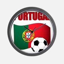 Portugal futebol soccer Wall Clock