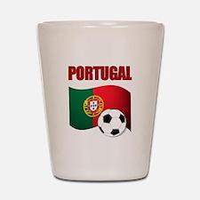 Portugal futebol soccer Shot Glass