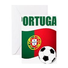 Portugal futebol soccer Greeting Cards