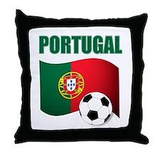 Portugal futebol soccer Throw Pillow