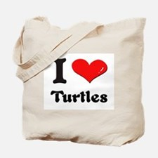I love turtles Tote Bag