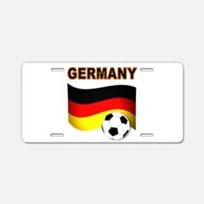 Germany soccer Aluminum License Plate