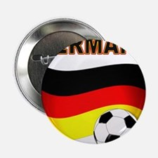"""Germany soccer 2.25"""" Button (10 pack)"""