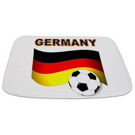 Beautiful Germany Soccer Bathmat