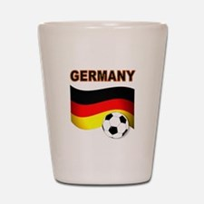 Germany soccer Shot Glass