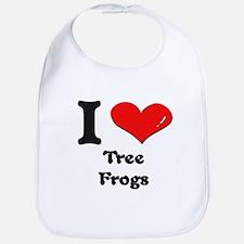 I love tree frogs  Bib