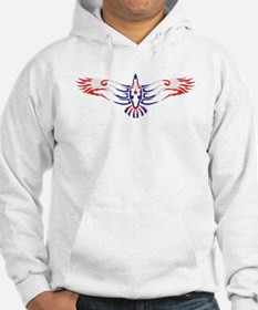 Unique Eagle tattoo Hoodie