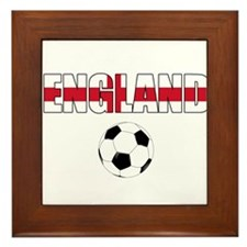 England Football Framed Tile