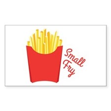 small Fry Decal
