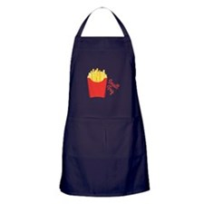 small Fry Apron (dark)