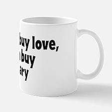 virgin mary (money) Mug