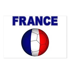 France Football Postcards (Package of 8)