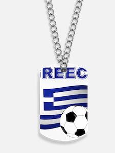 Greece soccer Dog Tags