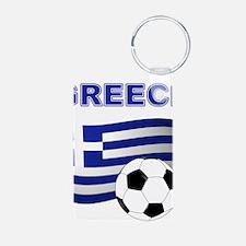 Greece soccer Keychains