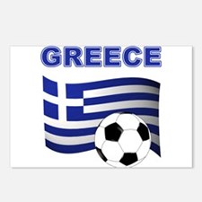 Greece soccer Postcards (Package of 8)