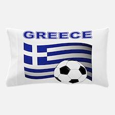 Greece soccer Pillow Case