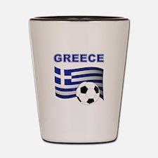 Greece soccer Shot Glass