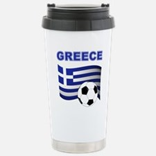 Greece soccer Travel Mug
