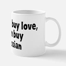white russian (money) Mug
