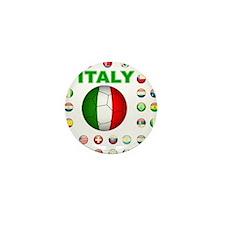 Italy soccer Mini Button