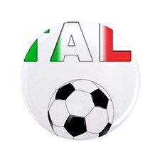 """Italy soccer 3.5"""" Button"""