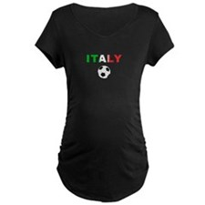 Italy soccer Maternity T-Shirt