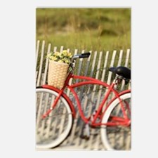 BIKE ON THE BEACH Postcards (Package of 8)