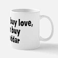 white cheddar (money) Mug