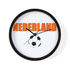 Nederland voetbal soccer Wall Clock