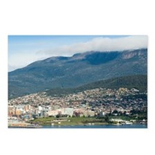 downtown hobart Postcards (Package of 8)