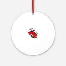 Flamenca Ornament (Round)